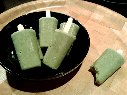 Green Bean Ices